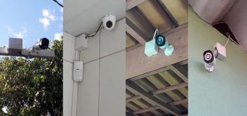 Câmeras de segurança são instaladas na Escola Municipal Nivaldo Ângelo da Silva