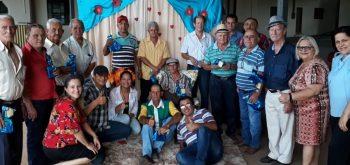 CRAS, SMAS e SCFV realiza confraternização em comemoração ao Dia dos Pais do Grupo Idade Feliz