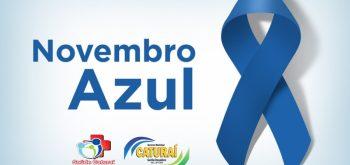 Novembro Azul promove conscientização sobre cuidados com a saúde masculina