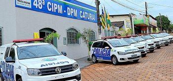 DIVINA ZAGO ENTREGA OBRAS DE REFORMA DO DESTACAMENTO DE POLÍCIA MILITAR